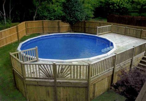 above ground pool decks picture landscape designs