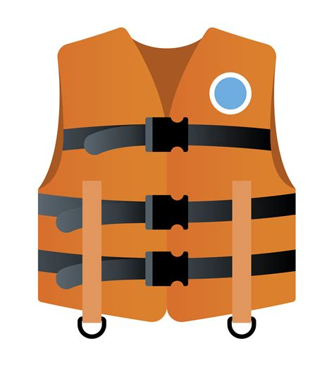 Boat Life Jacket by Lifejacket Clipart Clipground