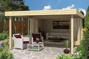 Gartenhaus Modernes Design : das gartenhaus mit vordach ~ Markanthonyermac.com Haus und Dekorationen