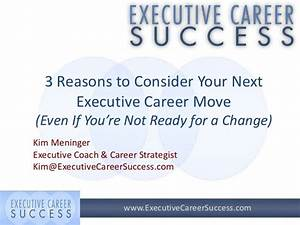 3 Reasons to Consider Your Next Executive Career Step ...