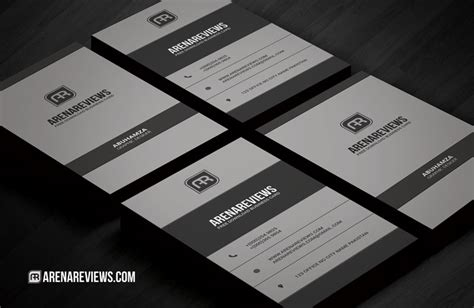 Free Vertical Corporate Business Card Template Download