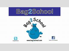 Bag2School Don't throw it out without giving us a shout