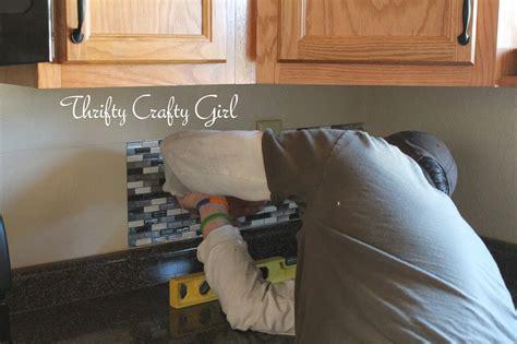 Easy Kitchen Backsplash With Smart Tiles