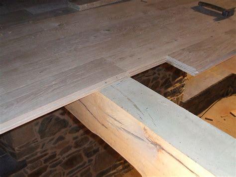 plancher en bois massif pose clout 233 e ou viss 233 e dessine moi une maison