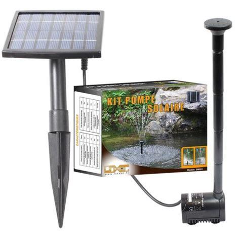 linxor pompe a eau solaire pour fontaine bassin jardin pas cher achat vente fontaine de