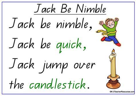 Row Row Row Your Boat Chinese Lyrics by Jack Be Nimble Nursery Rhyme