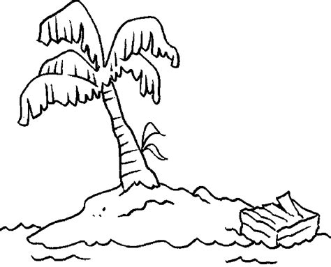 Barbie Island Princess Boat Song by Desert Island Coloring Pages Print Coloring Pages