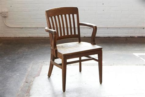1920s solid oak office armchair by w h gunlocke chair co wayland ny for sale at 1stdibs