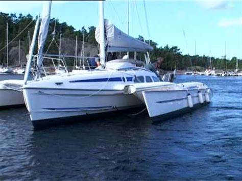 Trimaran English by Dragonfly 28 Sport Review By Yachtfilm English Version