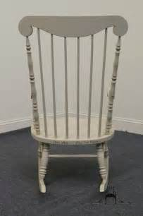 high end used furniture ethan allen hitchcock stenciled cape cod rocker 14 9702