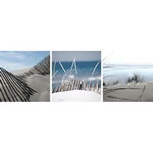triptyque toiles sur ch 226 ssis dunes 3 x 25 x 25 cm castorama