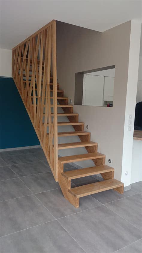 escalier et garde corps