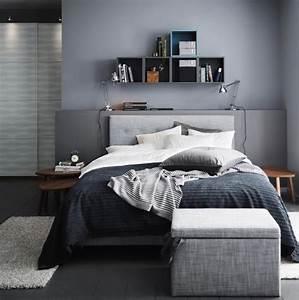 Schlafzimmer Design Grau : die farbe grau im schlafzimmer bild 4 living at home ~ Markanthonyermac.com Haus und Dekorationen