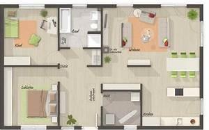 Grundriss Bungalow 100 Qm : bungalow 100 grundriss erdgeschoss ~ Markanthonyermac.com Haus und Dekorationen