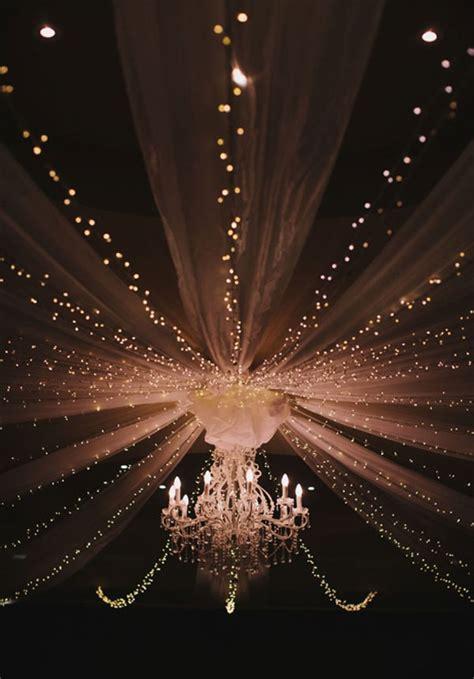Breathtaking Wedding Reception Décor Ideas With String