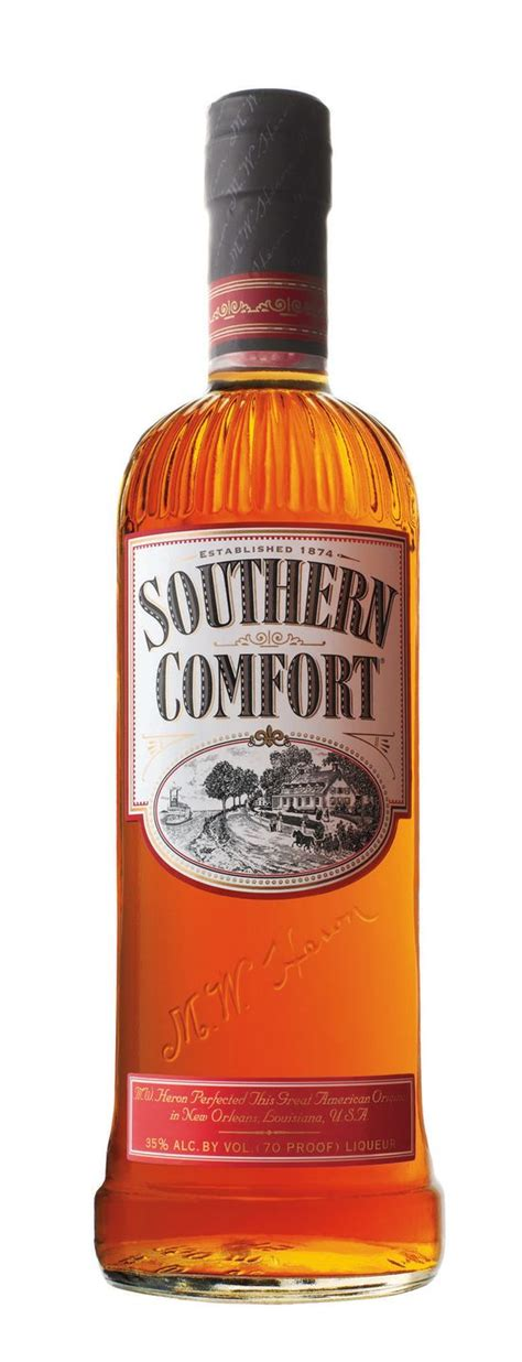 Before & After Southern Comfort Rebranding — The Dieline