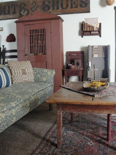 primitive living room prim and country decor