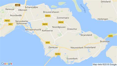Schouw En Duiveland by Adressen En Postcodes Van Gemeente Schouwen Duiveland
