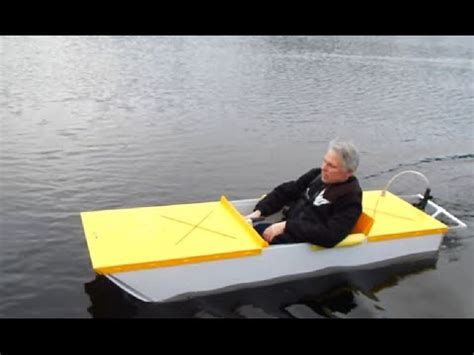 Round Electric Boat by Sparky A Diy Electric Boat Youtube