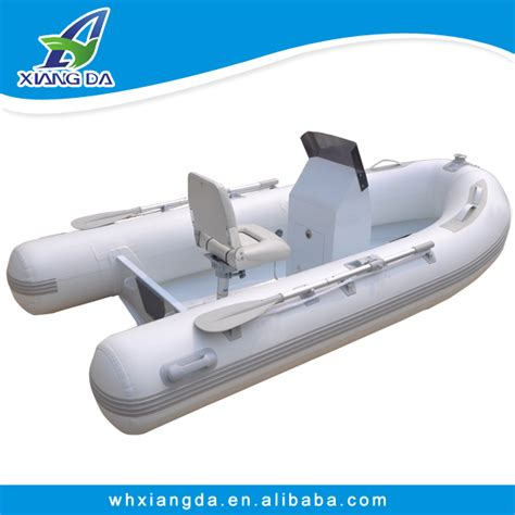 Inflatable Boat With Rigid Floor by 2016 China High Quality Aluminum Rigid Hull Inflatable