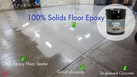 floor epoxy benjamin p40 100 solids shearer painting