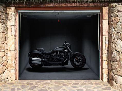 trompe l œil garage door posters graphis
