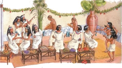 banquets et f 234 tes de l 233 gyptre antique