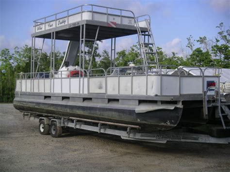 Party Barge Boats For Sale In Louisiana by 2004 28 Ft Custom Tritoon Party Barge Pontoon For Sale In