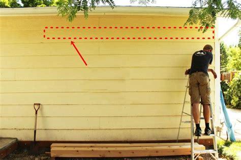 fabriquer une pergola murale ou adoss 233 e comment installer un support mural pour pergola en bois
