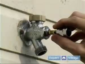 how to fix a faucet the essentials to fixing a leaky outdoor faucet