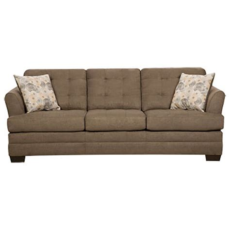 Simmons Sofas At Big Lots simmons velocity shitake sofa with gigi pillows