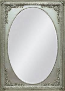Spiegel Oval Silber : spiegel oval mit rahmen esstische rund und ausziehbar ~ Markanthonyermac.com Haus und Dekorationen