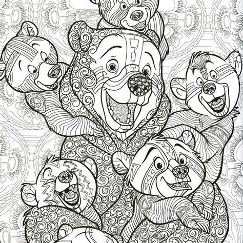 Livre Coloriage Adulte  A4  Disney Le Nouveau Bestiaire Extraordinaire  100 Coloriages