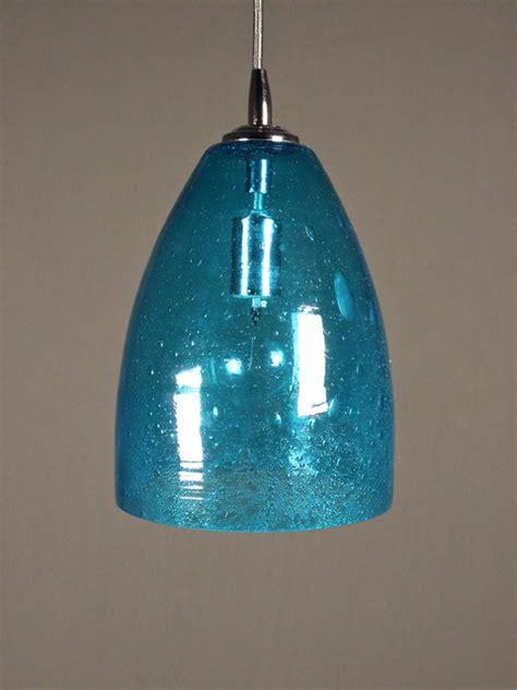 aqua glass pendant light aqua seeded glass pendant dome eclectic pendant