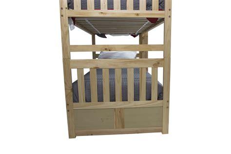 basic bunk bed mor furniture for less