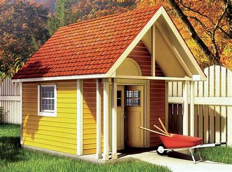 fancy storage shed building plans only