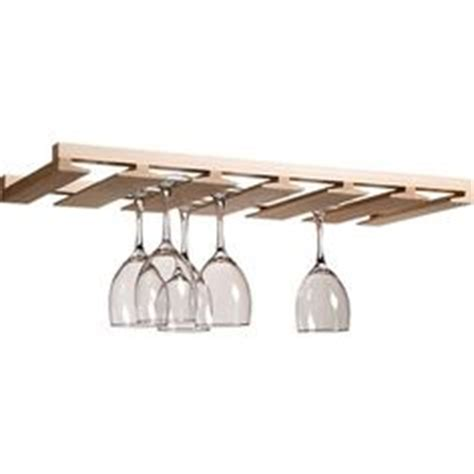 wine glass rack on wine glass storage rake