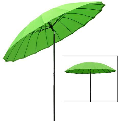 azuma 2 5m tilting parasol sun shade canopy umbrella garden outdoor patio green