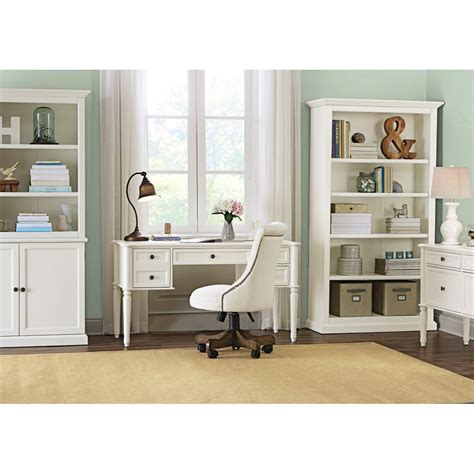 Martha Stewart Living Ingrid Rubbed Ivory Open Bookcase