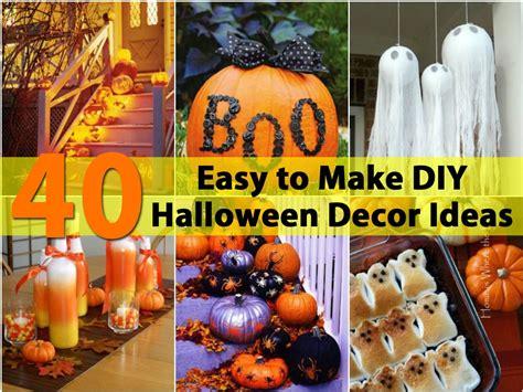 40 Easy To Make Diy Halloween Decor Ideas  Diy & Crafts