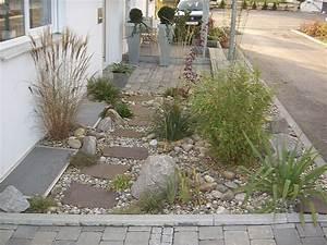 Kiesbeet Anlegen Bilder : einen vorgarten gestalten einen vorgarten gestalten hof pinterest vorgarten gestalten ~ Markanthonyermac.com Haus und Dekorationen