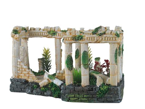 ancient ruins ornament for aquarium fish tank decoration terrarium 12184 ebay