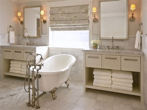 Victorian Bathroom Ideas With Classic Double Sink Design