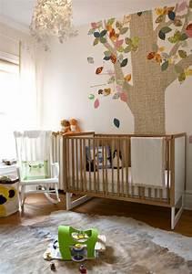 Tapeten Für Babyzimmer : babyzimmer tapeten 27 kreative und originelle ideen ~ Markanthonyermac.com Haus und Dekorationen