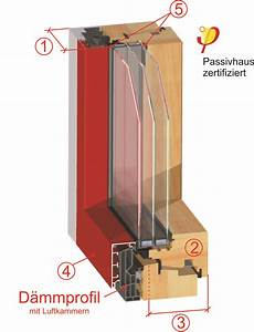U Wert Fensterrahmen Holz : passivhaus fenster dw plus integral wiegand fensterbau ~ Markanthonyermac.com Haus und Dekorationen