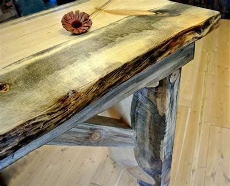 beetle kill pine bar from sustainable lumber co decor