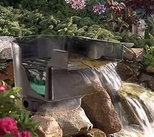 Teich Mit Wasserfall : teich wasserfall 43cm breit incl filtersystem bachlauf teichfilter g nstig kaufen ~ Markanthonyermac.com Haus und Dekorationen