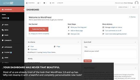 15 Free Wordpress Admin Themes For 2016