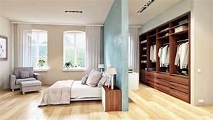 Schränke Für Begehbaren Kleiderschrank : die optimale schlafzimmer aufteilung neben dem schlafbereich befindet sich ein begehbarer ~ Markanthonyermac.com Haus und Dekorationen