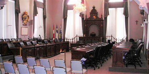 r 233 alisation r 233 am 233 nagement de la salle du conseil ville de qu 233 bec construction couture tanguay
